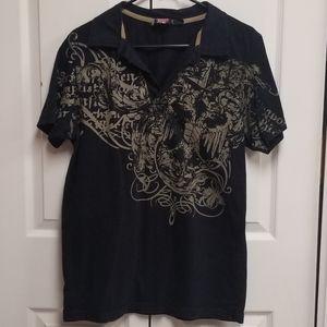 Men's Point Zero Polo Shirt sz Sm